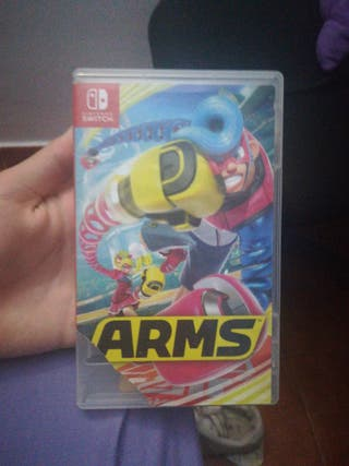 Nintendo switch (ARMS)