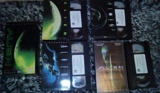Alien Saga (Trilogía) + Alien -Resurrección- VHS