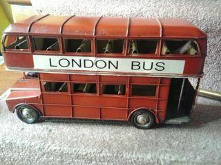 Replica autobús ingles de dos pisos