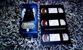 "Pack ""Trilogia Star Wars (Original) "" 1990 VHS"