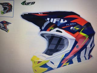 Casco Moto talla s ufo interceptor 2 flash nuevo