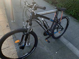 Bicicleta, menos de un año