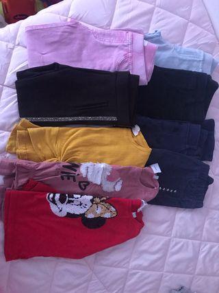 Lote ropa niña talla 4-5años