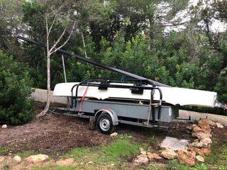Catamaran Hobie 17 with trailer ~ Hobie Cat