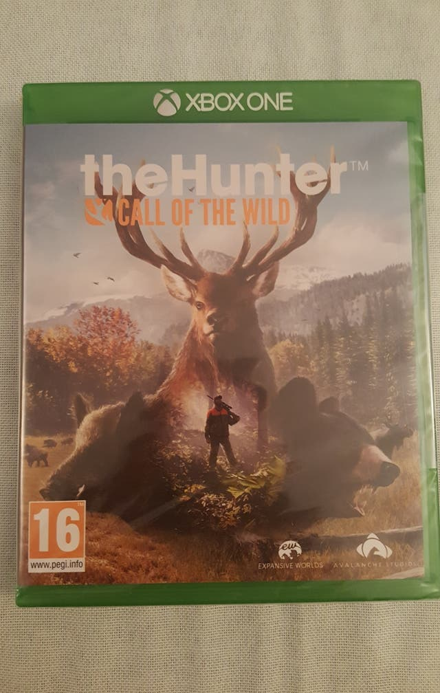 JUEGO XBOX ONE. THE HUNTER.
