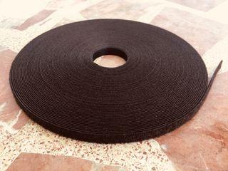 Cinta Velcro doble cara 1cm de ancho rollo 25m