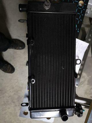 radiador honda cbf hornet