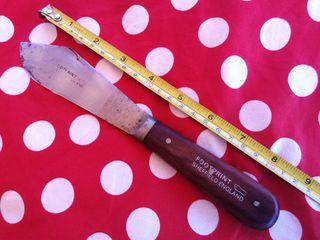 Cuchillo de masilla