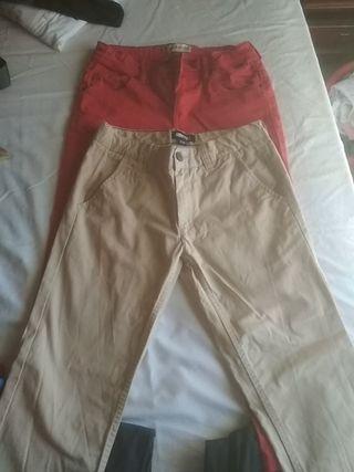 pantalones chinos brotes y freestyle talla 12