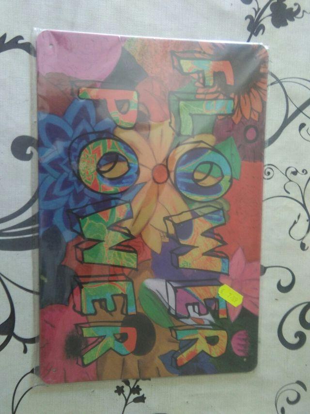 Placa decorativa para colgar, NUEVA!!