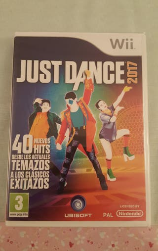 JUEGO WII. JUST DANCE 2017