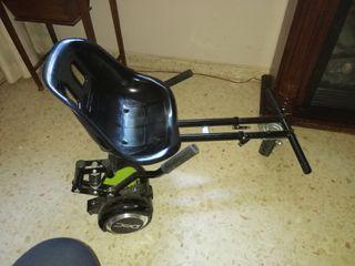 patinete eléctrico con asiento regulable
