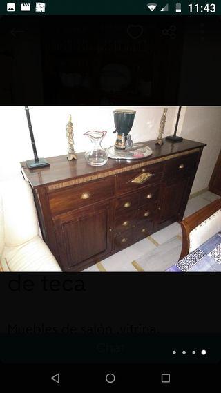 muebles de madera de teka totalmente nuevos