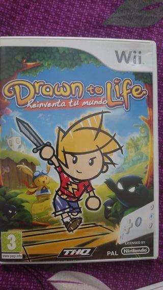 Juego de Wii y Wii U Drawn to Life
