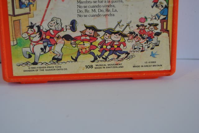 Antiguo Juguete musical Fisher Price
