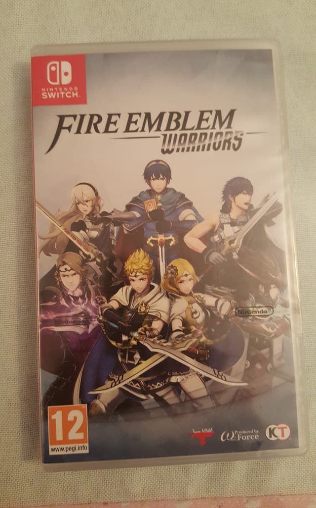 JUEGO NINTENDO SWITCH. FIRE EMBLEM WARRIORS