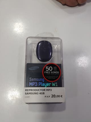 Reproductor mp3 samsung 4gb