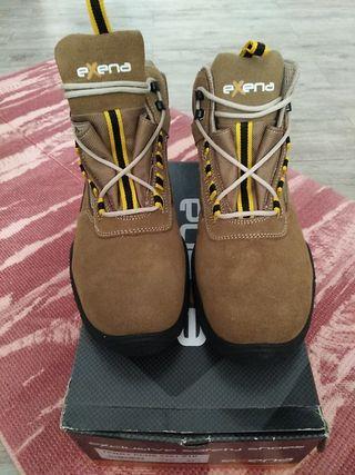 zapatos bota de seguridad nuevos
