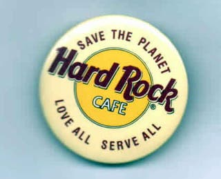 Chapa de Hard Rock Cafe