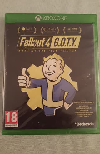 JUEGO XBOX ONE . Fallout4 GOTY