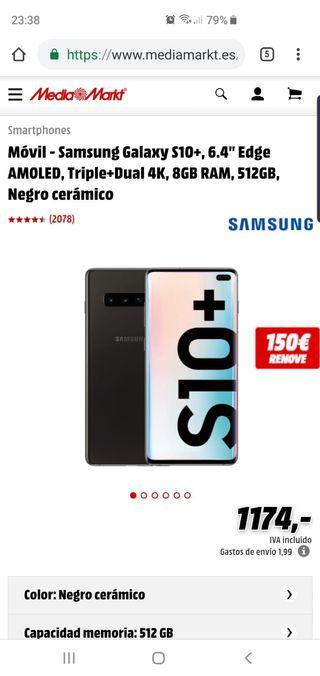 Samsumg galaxy S10+