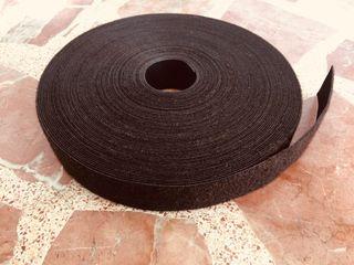 Cinta Velcro doble cara 3cm de ancho rollo 25m