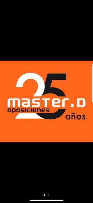 Traspaso matrícula MasterD