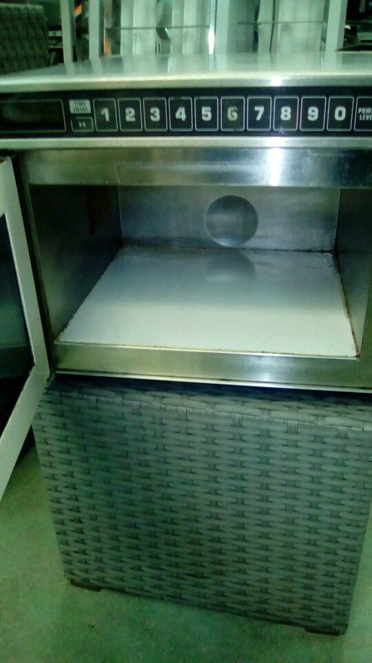 microondas industrial amana