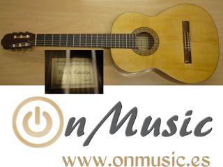 Guitarra clásica Vicente Camacho