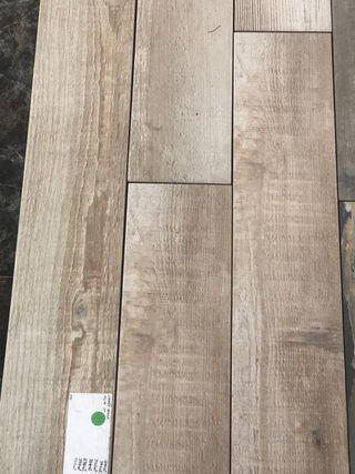 Imitación madera rustica