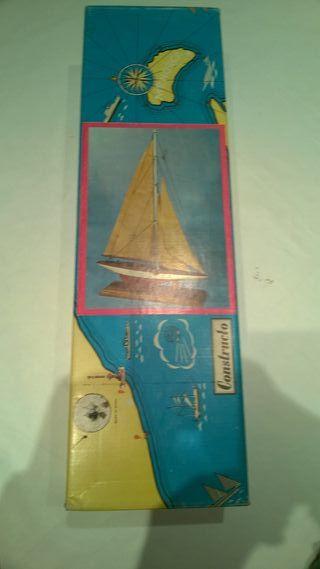 Maqueta de barcos classicos
