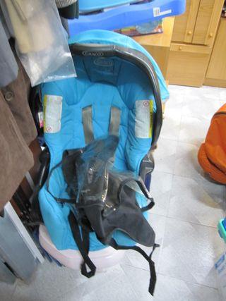Silla coche bebé hasta 16kg