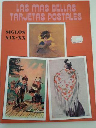 Las más bellas tarjetas postales. mujeres y niños