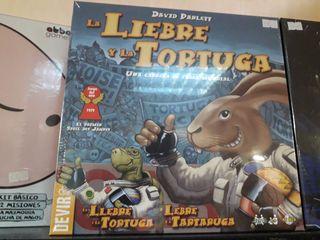 juego de mesa la liebre y la tortuga