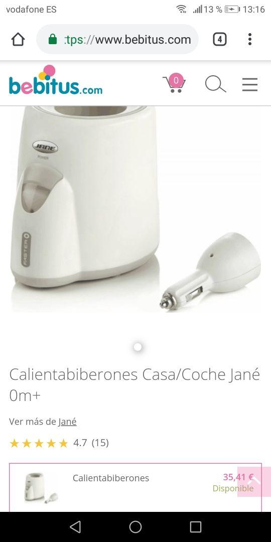 Calienta biberones JANE (nuevo)