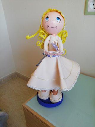 muñeca. comunion