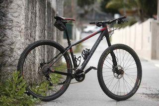 bicicleta mtb XC carbono