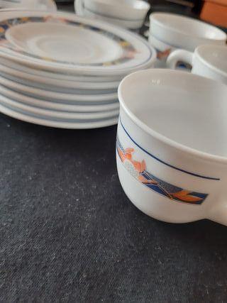 Set vintage 6 tazas