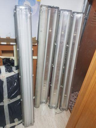 pantallas de tubos fluorescentes