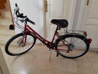 Bicicleta de uso mixto paseo y caminos