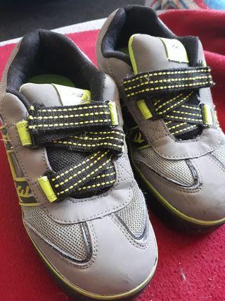 zapatillas con ruedas y luz