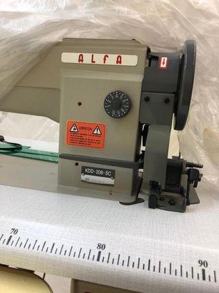máquina de coser industrial triple arrastre