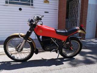 Montesa cota 348 trail Añó 77