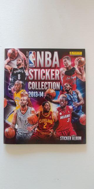 Álbum vacío NBA 2013-2014 Sticker