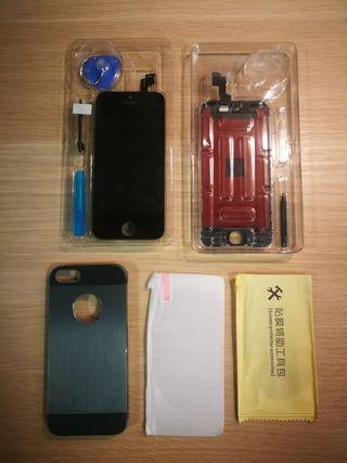 Kit TOTAL Iphone (pantalla, funda, etc.)