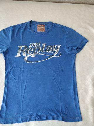 camiseta marca replay