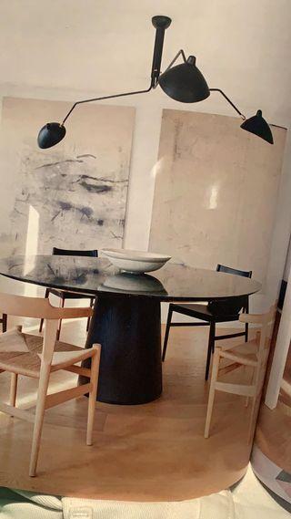 Lámpara de diseño Serge Mouille nueva