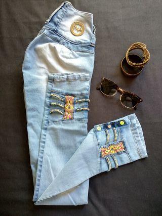 ¡Nuevo! Pantalón Vaquero PushUp Talla S/36/8