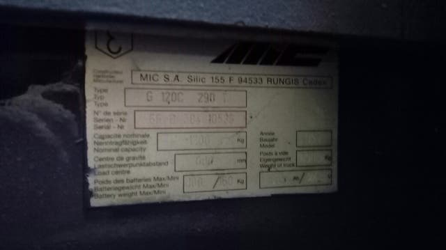 Apilador eléctrico MIC