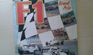 Álbum cromos Grand Prix años 80